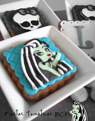 Galletas Frankie monster high