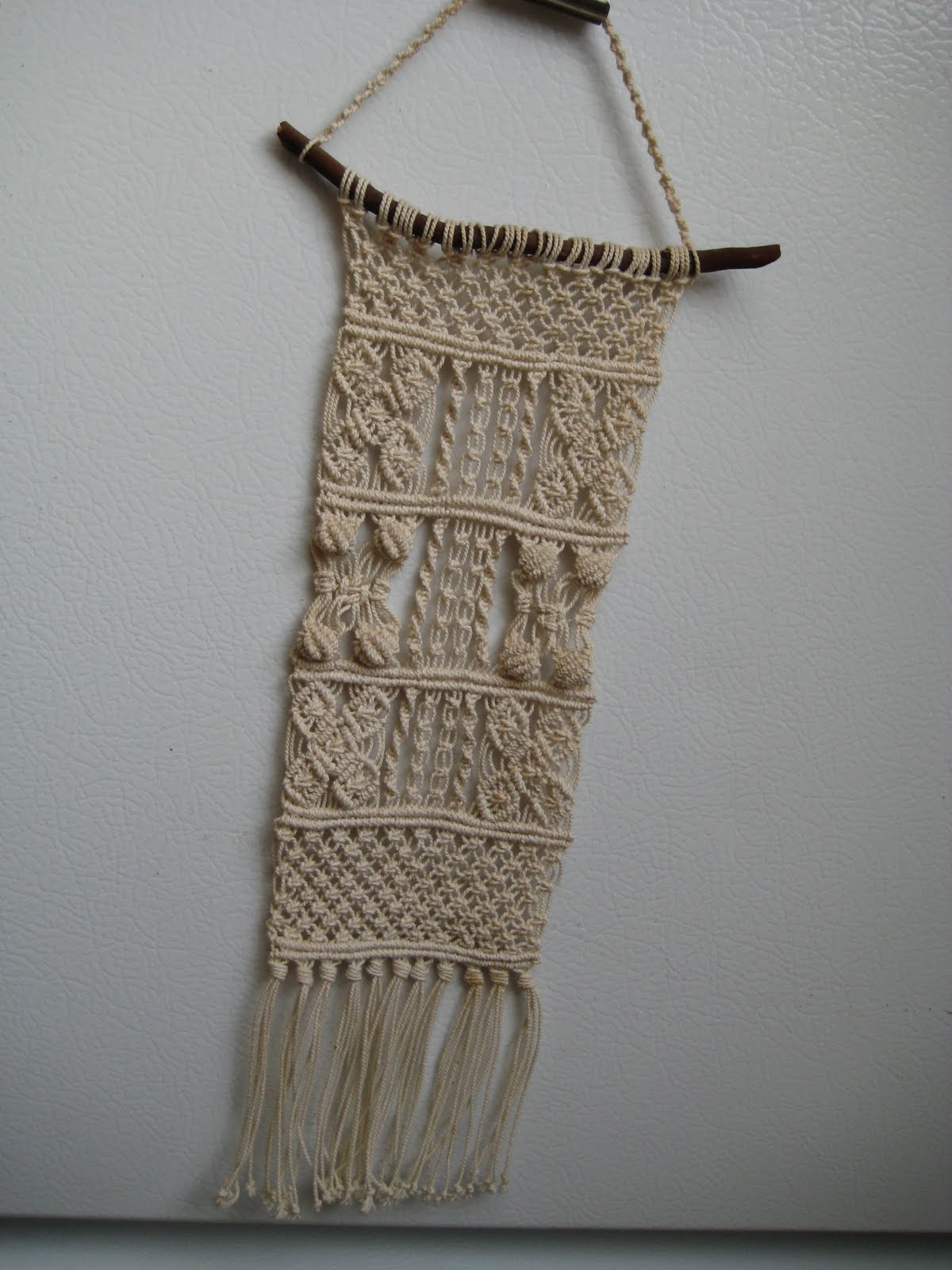 Lovetheseventies Macrame It Hung On The Wall