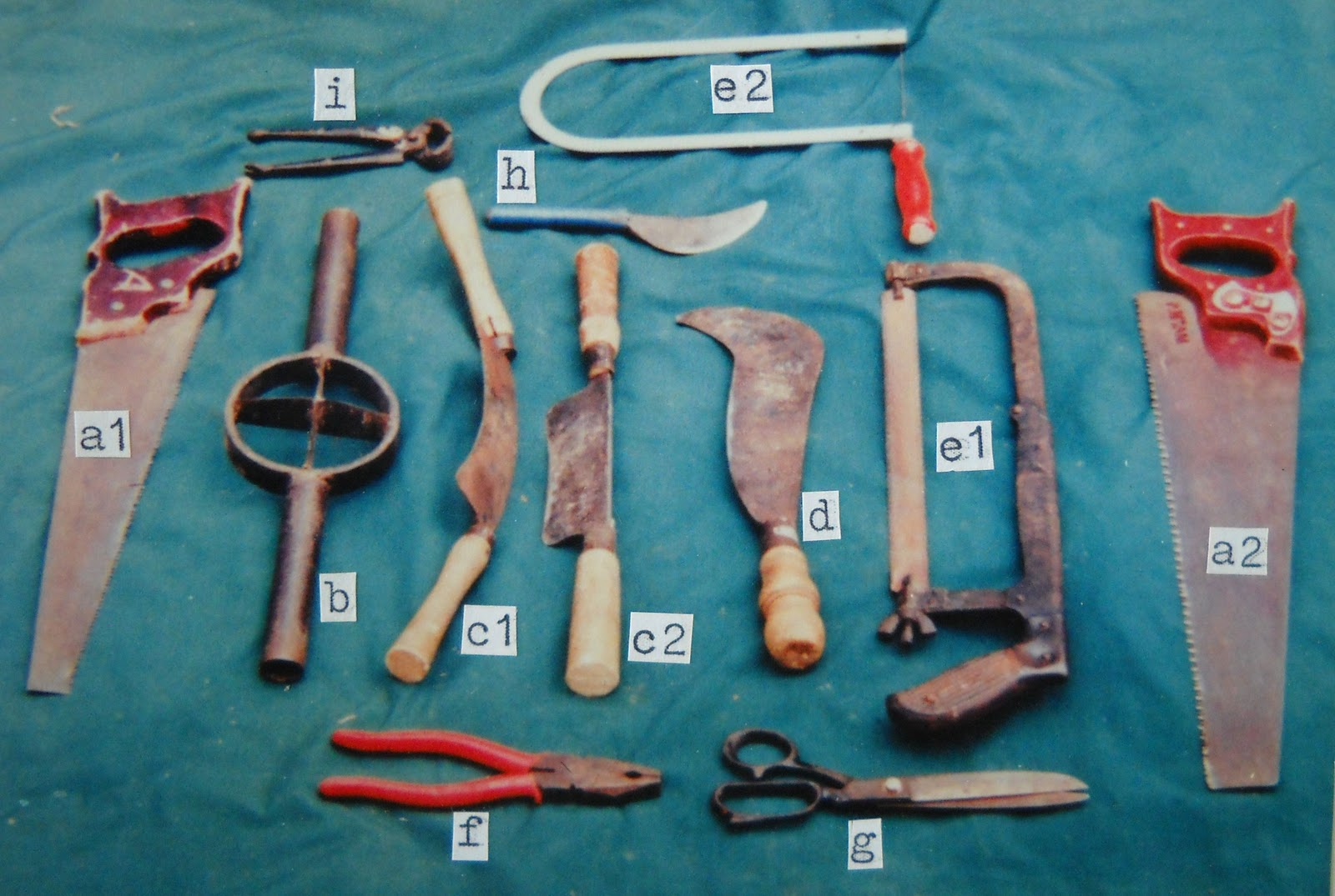 Peralatan yang digunakan :