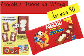 chocolate turma da monica anos 90