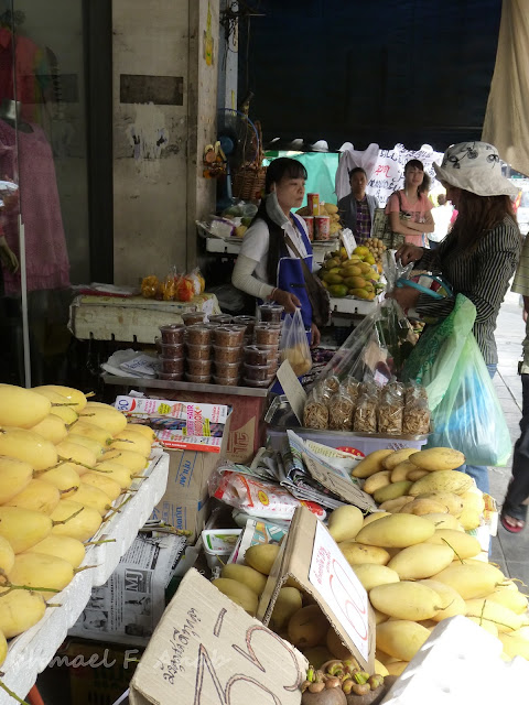 Fruit stall at Bangkok Chinatown