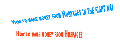 How to make money from Hubpages,How to earn money from Hubpages,affiliate program tips,hubpages