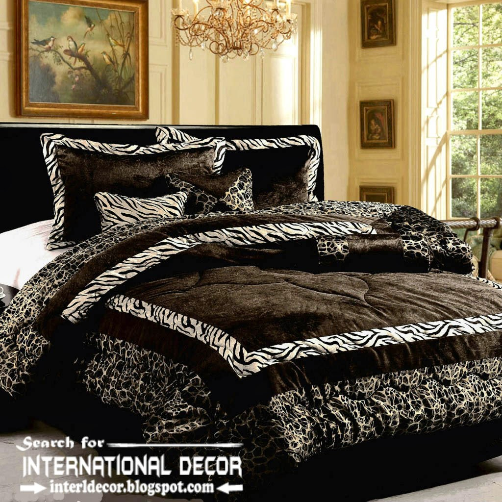 Italian bedspreads, Italian bedding sets, black bedspreads and bedding sets