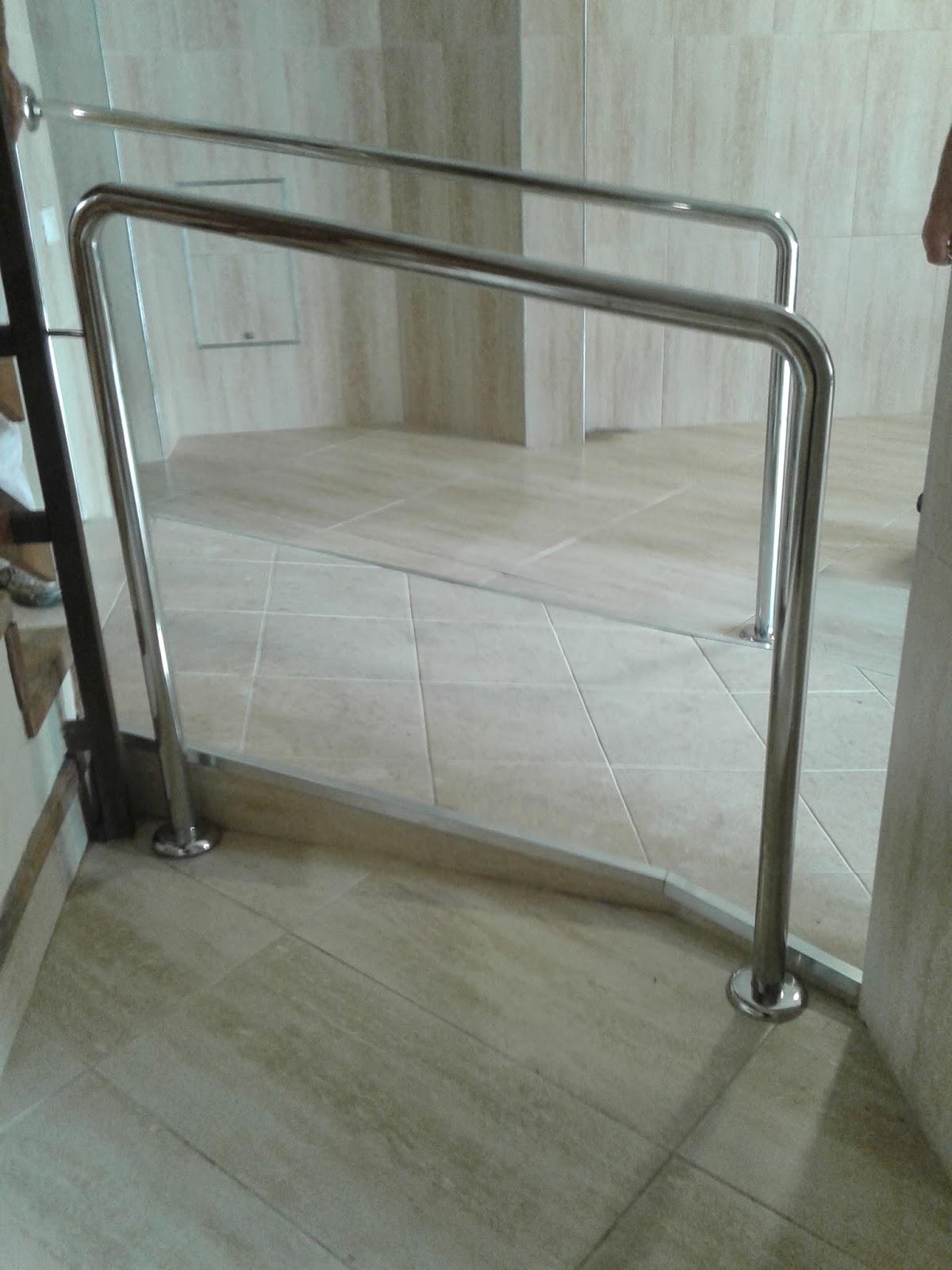 Acero inoxidable tenerife pasamanos para rampas y - Pasamanos escaleras acero inoxidable ...
