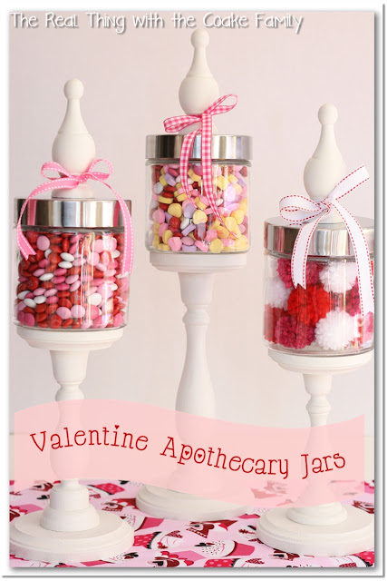 How to make decorative apothecary jars and tips for filling the jars ~ #ApothecaryJars #craft #HomeDecor
