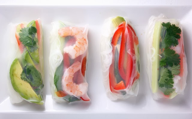 Simple and Delicious Fresh Spring Rolls | Recipe by chelsa-bea.com #MyPicknSave #shop