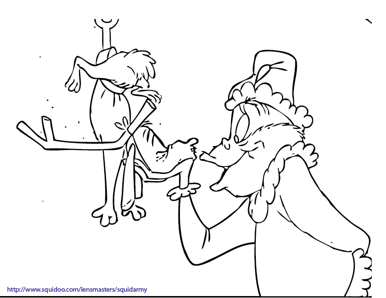 Grinch Coloring Pages Picture