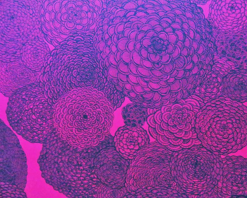 disponibles en rose, bleu, dégradé violet qui flashe, sur papiers de  title=