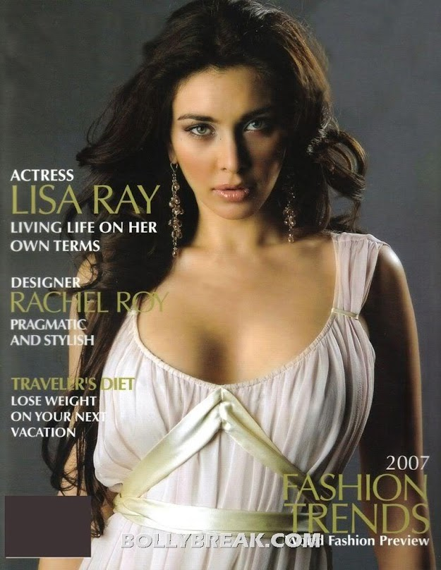 Lisa Ray Busty Magazine Hot Pics