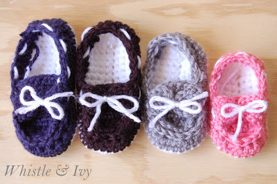 Crochet Booties For Boys