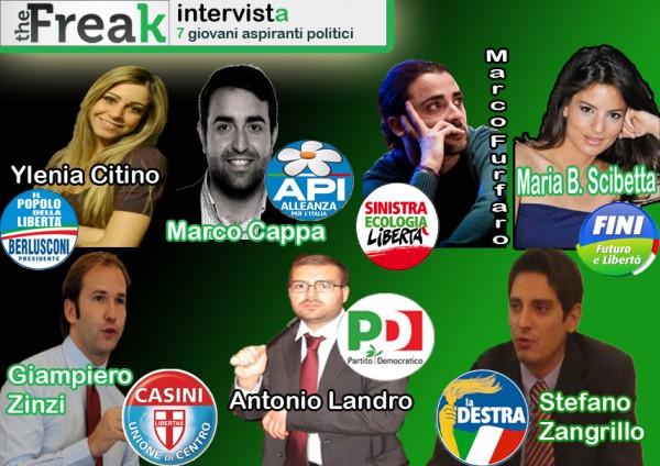 La destra formia intervistati 7 giovani politici italiani for Tutti i politici italiani