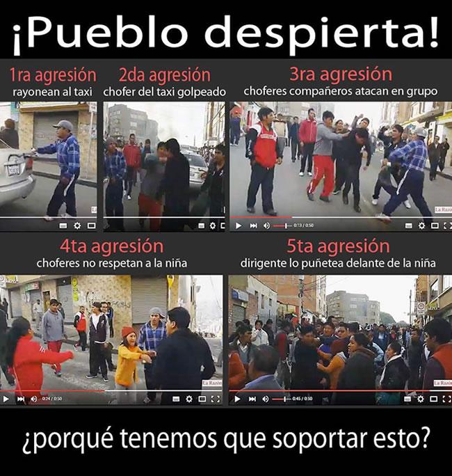 MEME EN REPUDIO A CHOFERES COBARDES Y ABUSIVOS SE HACE VIRAL