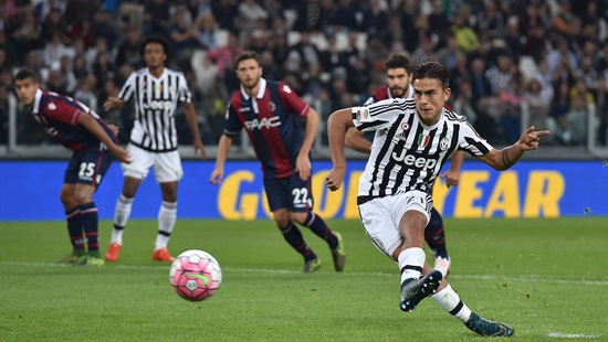 Juventus 3 x 1 Bologna - Campeonato Italiano(Calcio) 2015/16