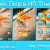 Rain Drops Live HD Theme For Nokia x2-00,x2-02,x2-05,x3-00,c2-01,2700,206,301,6303 240*320 Devices