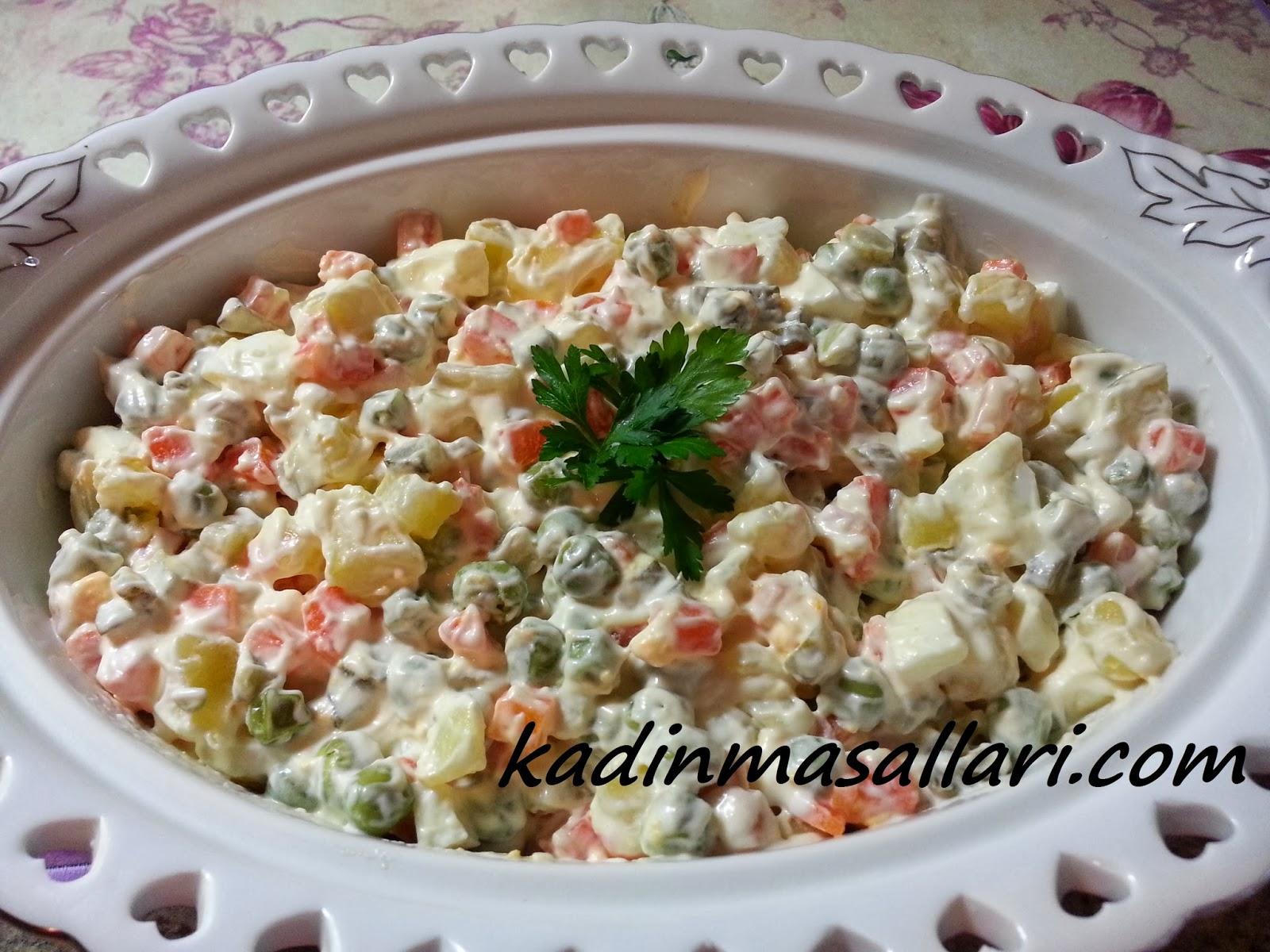 Pratik Rus Salatası Videosu