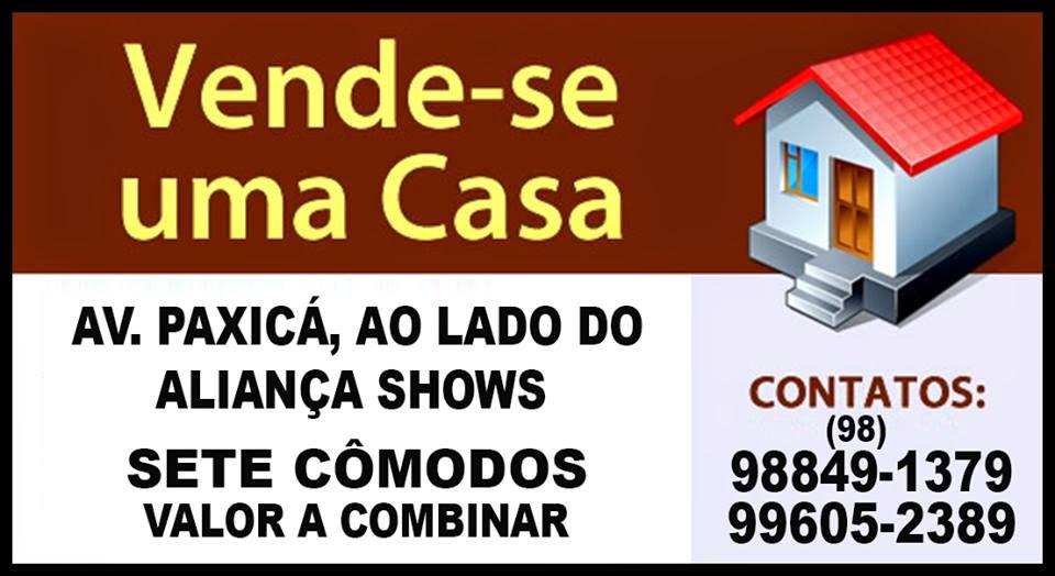 VENDE-SE UMA CADA AO LADO DO ALIANÇA SHOW