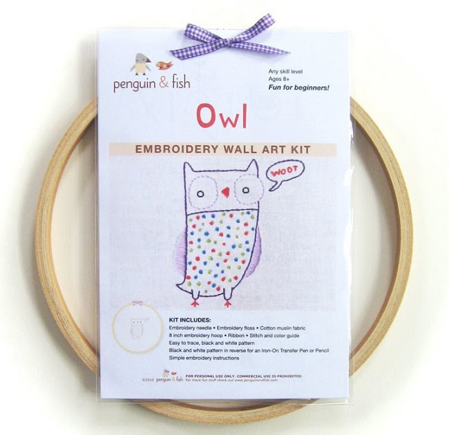Weekend kits creative fun embroidery for