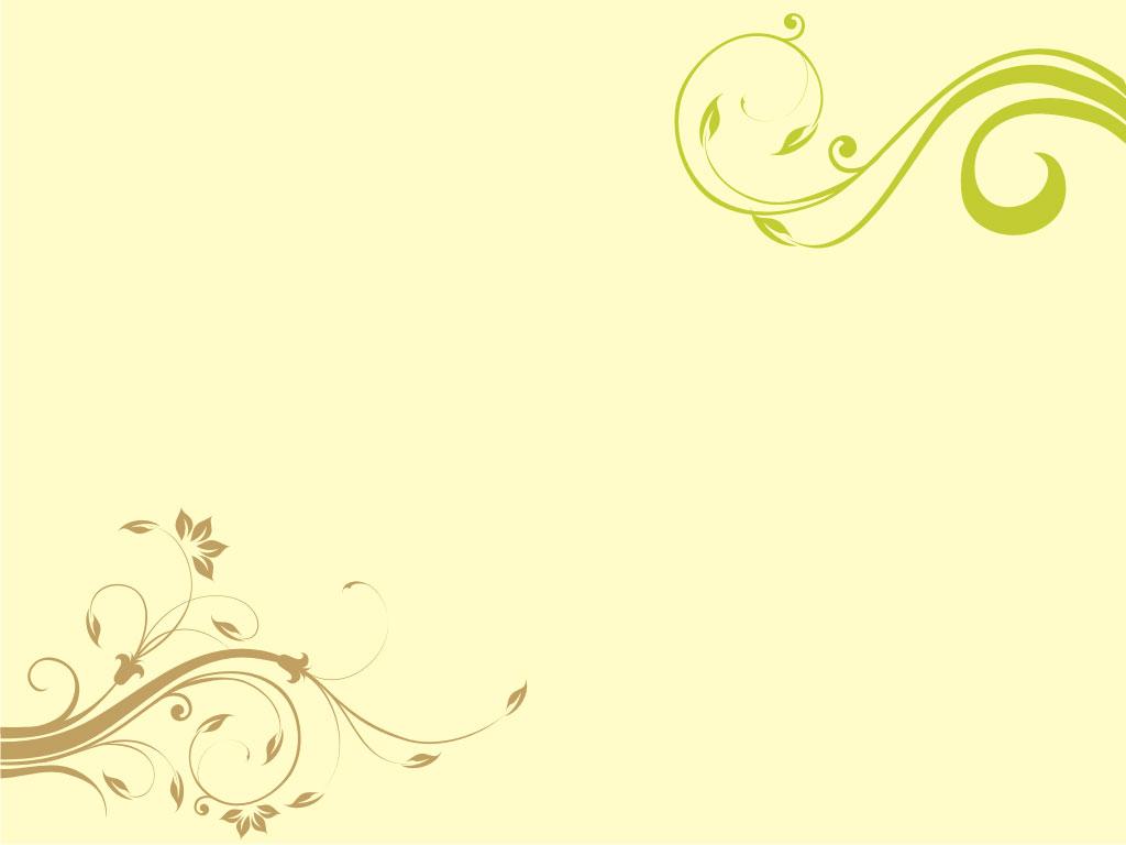 Contoh Background Untuk Microsoft PowerPoint (Floral Design)