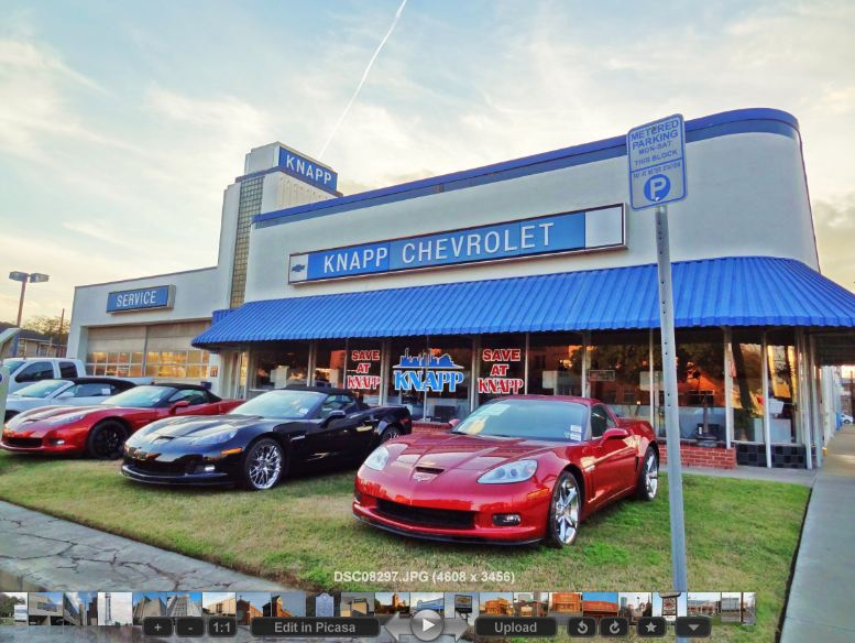 chevrolet dealership in historic building on washington ave at houston. Cars Review. Best American Auto & Cars Review