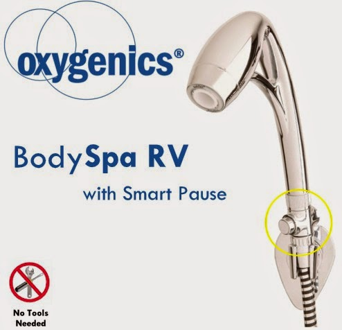 Oxygenics Smart Pause Shower Head