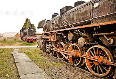Muzeul de locomotive Sibiu
