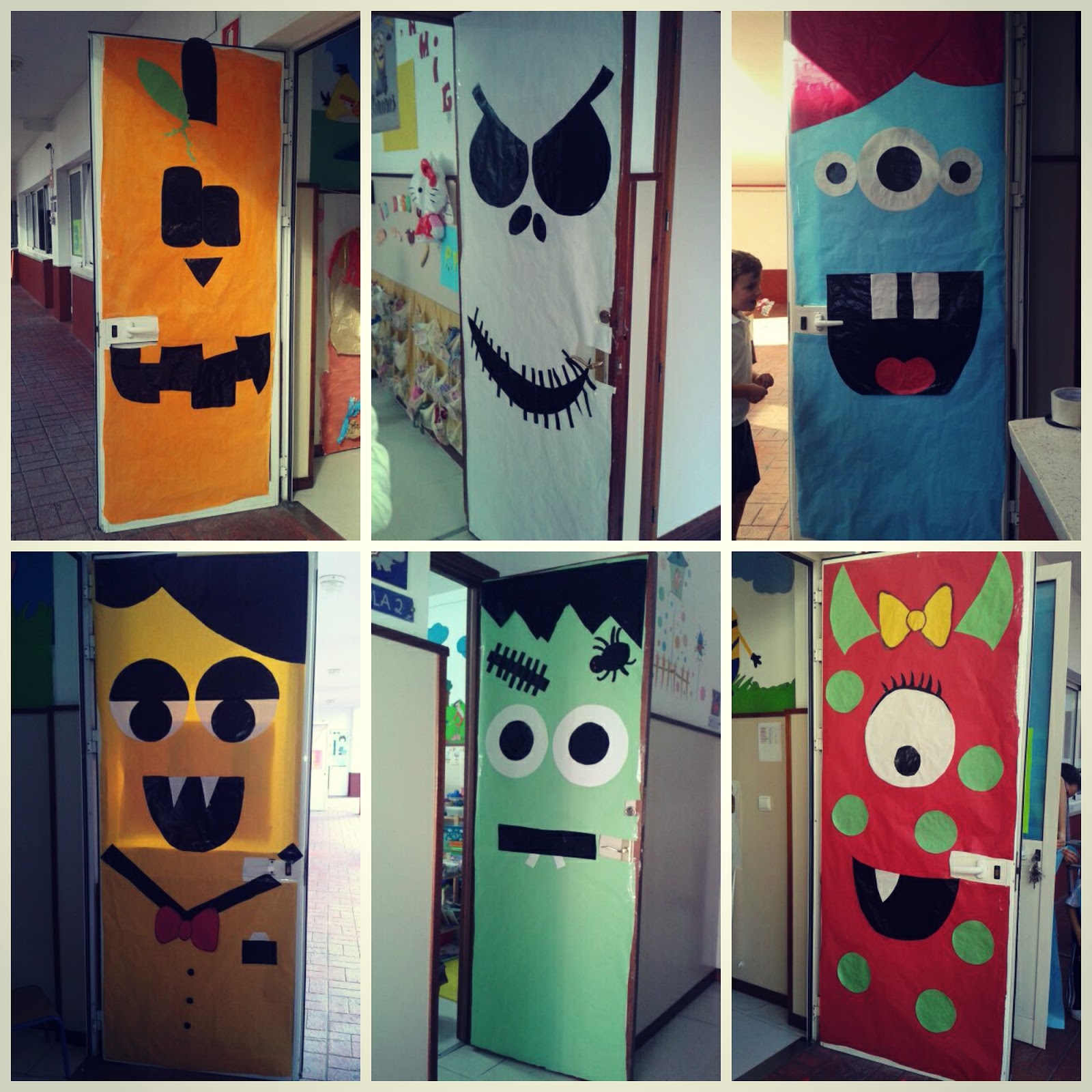 El blog de infantil la presentaci n our halloween is - Puertas decoradas halloween ...