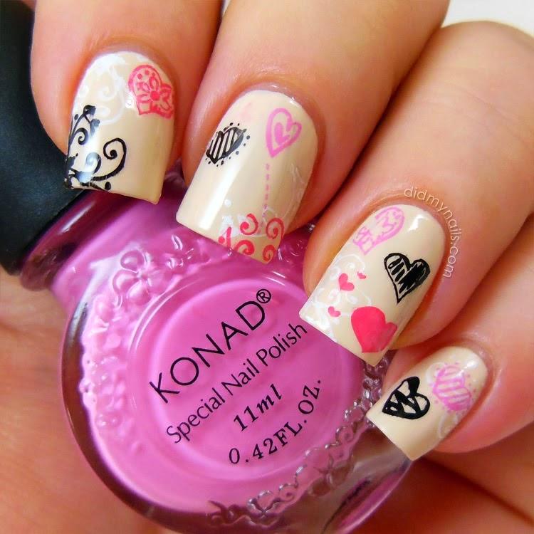 25 diseños de uñas al estilo de Corea del Sur ~ Espacio Kpop ...