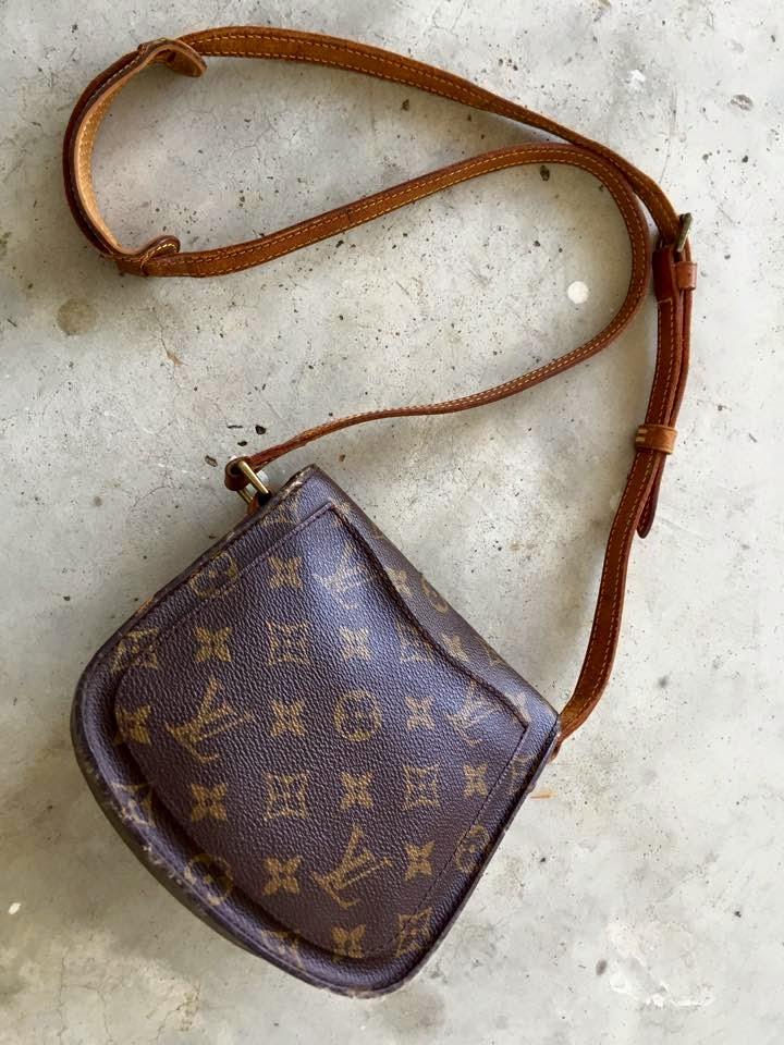 9c166335f7ed Authentic Louis Vuitton Monogram Canvas Saint Cloud Mini Sling Bag (SOLD)
