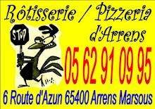 Rotisserie Pizzeria d'Arrens