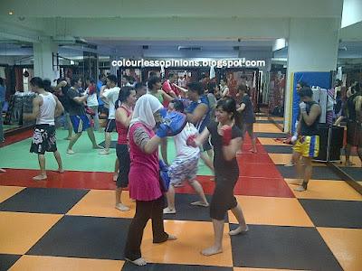 Muay Fit Muay Thai beginner class