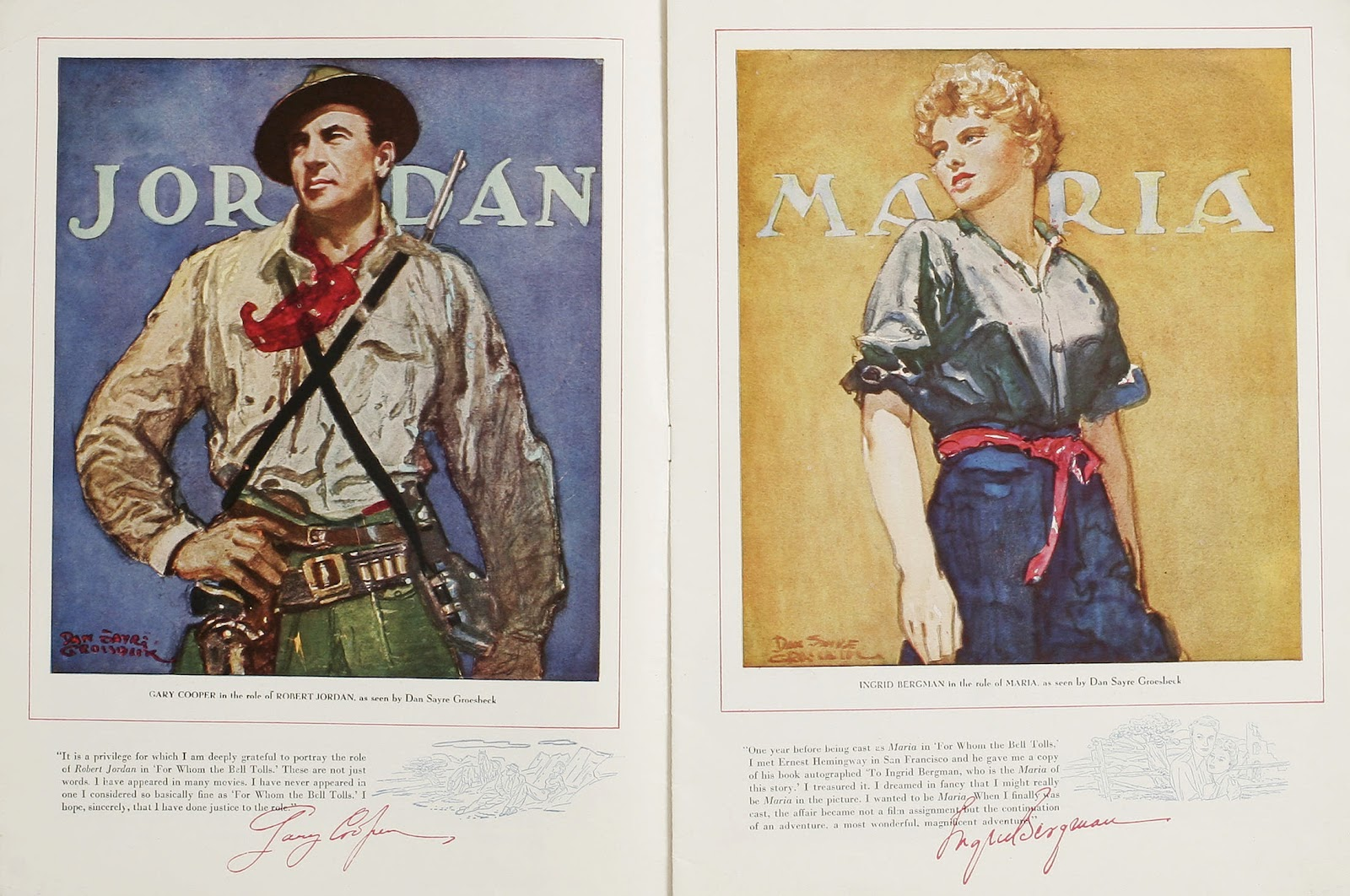 an example of the code hero in for whom the bell tolls by ernest hemingway In 1937, hemingway went to spain as a correspondent for a newspaper  syndicate,  but for whom the bell tolls, which grows out of hemingway's  experience and  consider for example the forthright english idiom in the  dialogue of karkov,  robert jordan in this novel, however, is a deeper and  more complex hero than.