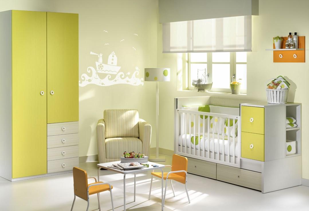 Come organizzare la cameretta del bambino mobili ros - Dipingere cameretta bambino ...