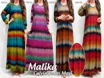 Baju Muslim Gamis Malika GC1280 HABIS