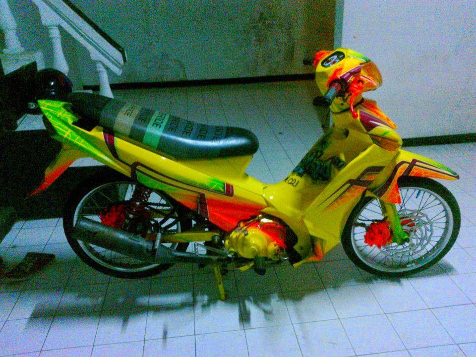 modifikasi motor yamaha vega zr 2012