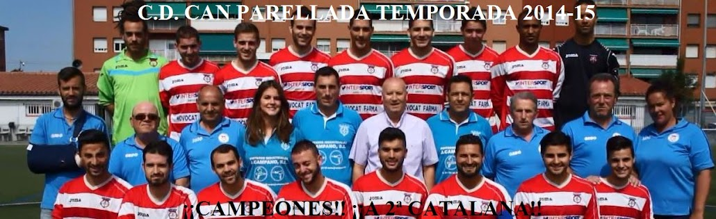 C.D.CAN PARELLADA TEMPORADA 2014-15