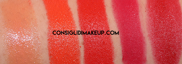 swatch mac lipstick