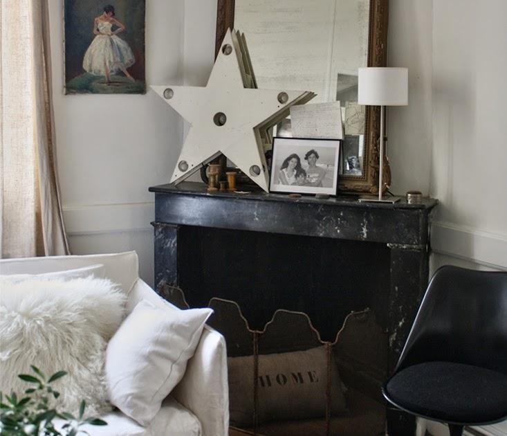 un coeur en provence e magdeco l 39 int rieur vintage d 39 une chineuse. Black Bedroom Furniture Sets. Home Design Ideas