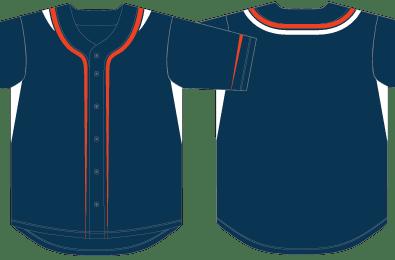 baseball jersey template vector class. Black Bedroom Furniture Sets. Home Design Ideas