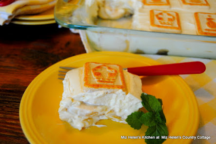 Banana Pudding with Shortbread Cookies
