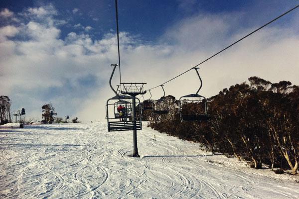 Mount Selwyn snowfields chair lifts
