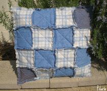 Rag Quilt - Cojín Patchwork