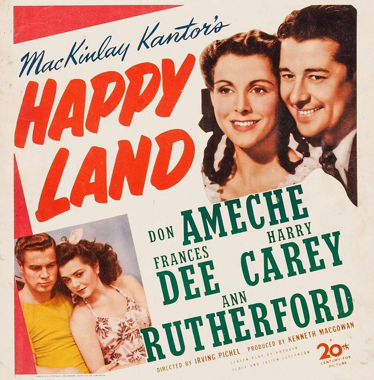 HAPPY LAND (1943)