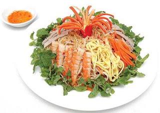 Món ăn ngon: nộm thập cẩm