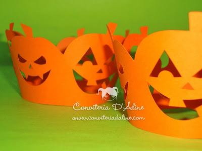 wrappers halloween decoração personalizados
