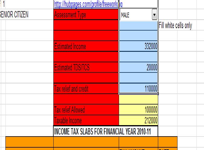 excel calculators for all financial calculations