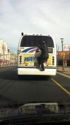 subirse al autobus
