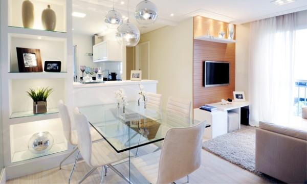 decoracao alternativa para apartamentos pequenos:investir na transparência para a decoração de apartamentos pequenos