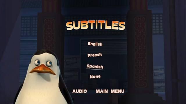 Los Pinguinos de Madagascar Operacion Blowhole DVD Full