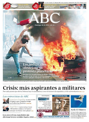 Portada ABC indignados