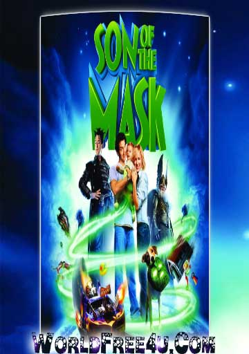Poster Of Son of the Mask (2005) In Hindi English Dual Audio 300MB Compressed Small Size Pc Movie Free Download Only At worldfree4u.com